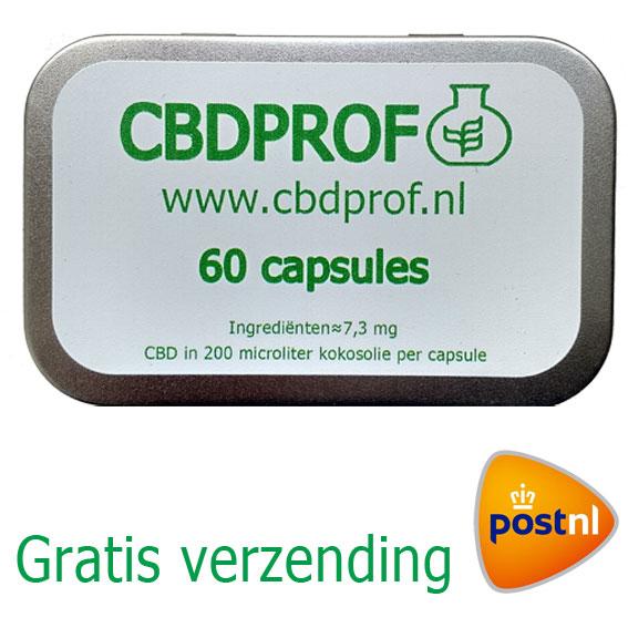 CBD Capsules Biologisch en gemakkelijk in te nemen